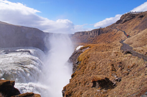 Gullfoss - Golden Circle i Island