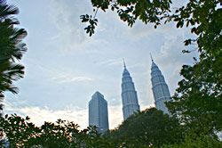 Petronas Tower by day