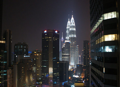 Petronas Towers i KL