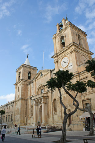 St. John´s Cathedral i Valletta