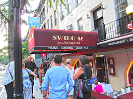 Swing 46 i New York