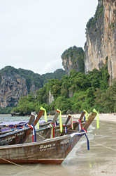 Railay Beach i Sydthailand
